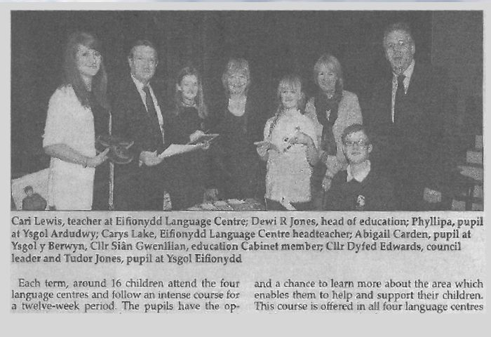 cambrian news article